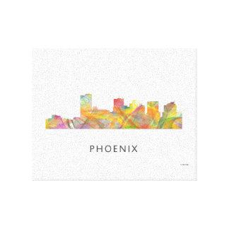 PHOENIX ARIZONA SKYLINE WB1 - Throw pillow Canvas Print
