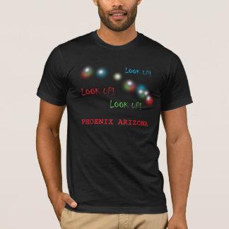 Phoenix Arizona UFO Lights American Apparel Tshirt