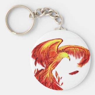 Phoenix Being Reborn Keychain.