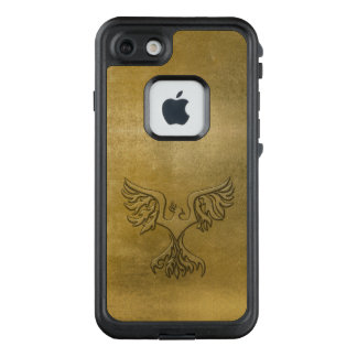 Phoenix Bird Gold Embossed LifeProof FRĒ iPhone 7 Case