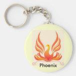 Phoenix Bird Key Chain