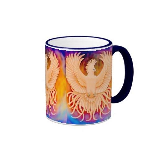 Phoenix Bird Ringer Mug