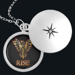 """Phoenix Bird Rise Pendant<br><div class=""""desc"""">Since the most ancient of times the phoenix bird has represented rebirth and regeneration. This phoenix pendant design will always remind you of the potential you have with. Draw secret strength knowing in times of need with this pendant and you are sure to rise above your situation.</div>"""