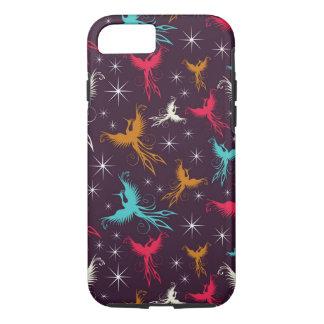 Phoenix Birds Figure Pattern iPhone 8/7 Case