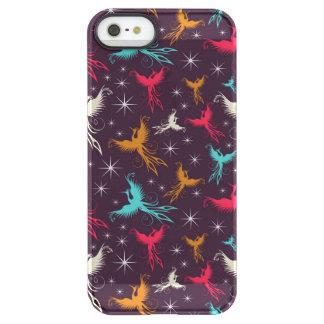 Phoenix Birds Figure Pattern Uncommon Permafrost® Deflector iPhone 5 Case