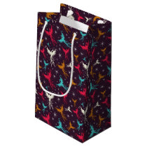 Phoenix Birds Figure Pattern Small Gift Bag