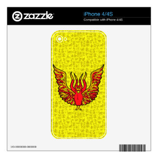 Phoenix - Book of Monsters - Ancient Greece Skins For iPhone 4