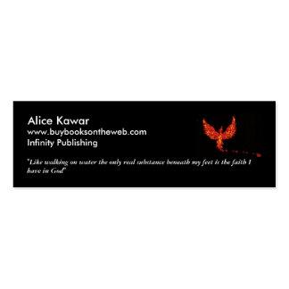 Phoenix Bookmark Mini Business Card