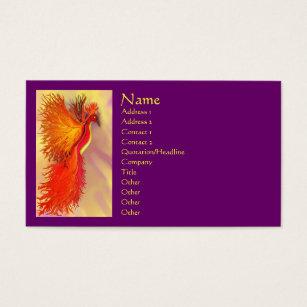 Phoenix bird business cards templates zazzle phoenix business card colourmoves