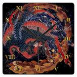 Phoenix by Hokusai - Clock Face V2