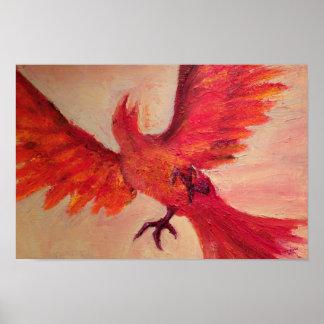 Phoenix by Terrence Gavin Willis Poster