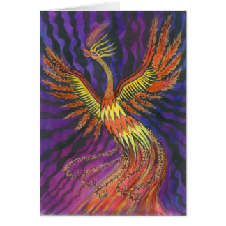 Phoenix Stationery Note Card