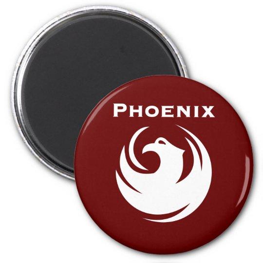 Phoenix city flag magnet