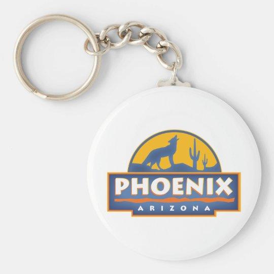 Phoenix Coyote Keychain