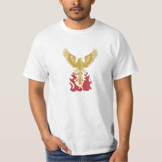 Phoenix de la ceniza playeras