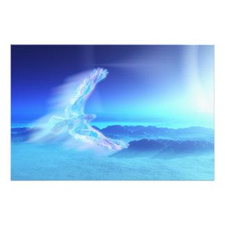 Phoenix de la impresión del norte de la foto cojinete