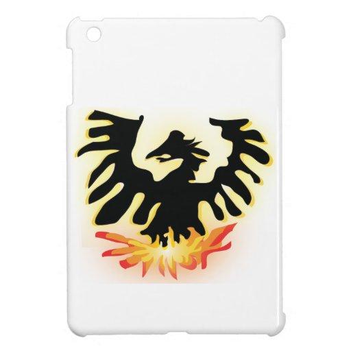 Phoenix de levantamiento iPad mini coberturas