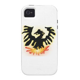 Phoenix de levantamiento iPhone 4/4S carcasas