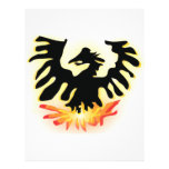 Phoenix de levantamiento plantillas de membrete