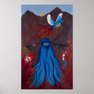 Phoenix/Dove Poster