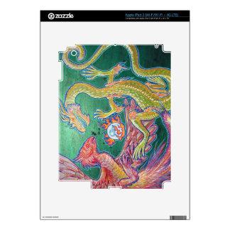 Phoenix & Dragon iPad 3 Skin