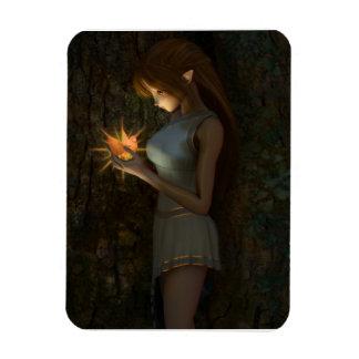 Phoenix Dreams Anime Fantasy Magnet
