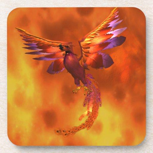 Phoenix Drink Coaster