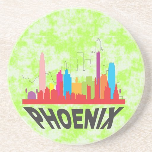 Phoenix Drink Coaster Zazzle