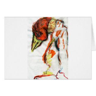 Phoenix existencial tarjeta de felicitación