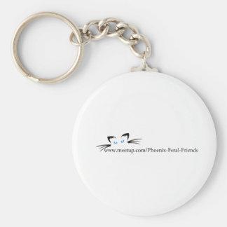 Phoenix Feral Friends Keychains