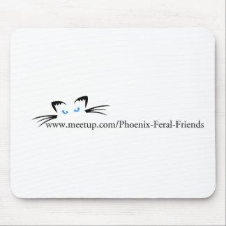 Phoenix Feral Friends Mouse Pads