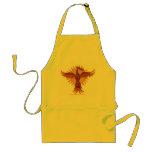 Phoenix fire bird cool apron design