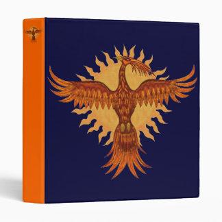 Phoenix fire bird cool binder design