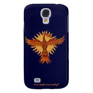 Phoenix fire bird graphic art cool i phone case