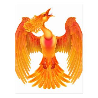Phoenix Fire Bird Postcard