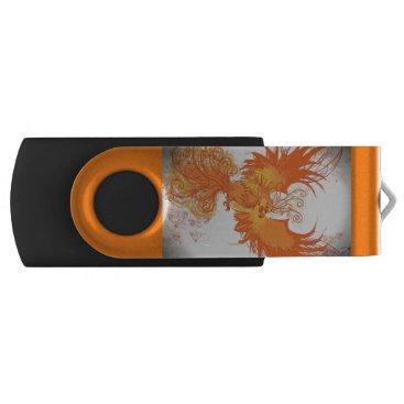 USA Themed Phoenix Fire - Personalized USB Memory Stick
