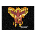 Phoenix Fire Print