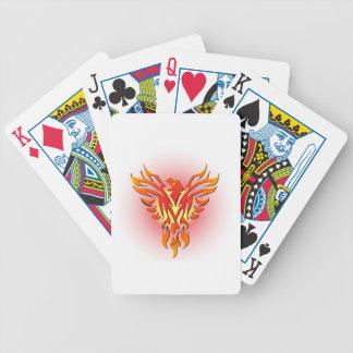 Phoenix Firebird Bicycle Playing Cards