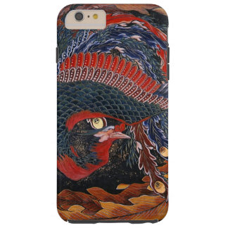 Phoenix (Firebird Goddess) Hokusai Fine Art Tough iPhone 6 Plus Case