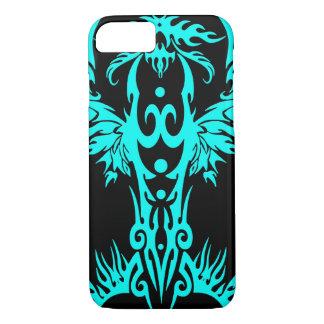 Phoenix flame cyan iPhone 8/7 case