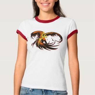 Phoenix Flight Ladies Ringer T Shirts