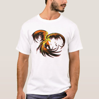 Phoenix Flight Melange Ringer T T-Shirt