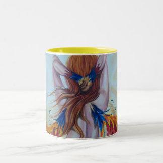 Phoenix Goddess Fantasy Mug