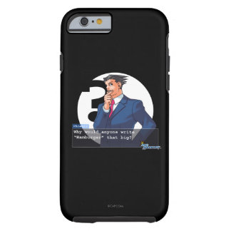 "Phoenix - ""Hamburger"" Tough iPhone 6 Case"