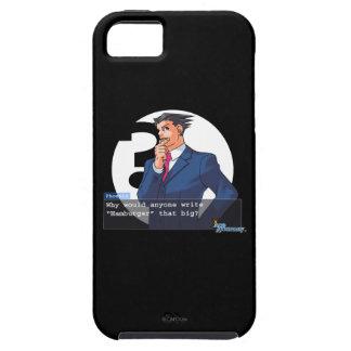 "Phoenix - ""Hamburger"" iPhone 5 Cases"