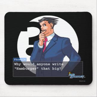 "Phoenix - ""hamburguesa "" mouse pad"