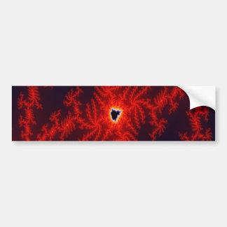 Phoenix Heart Bumper Sticker