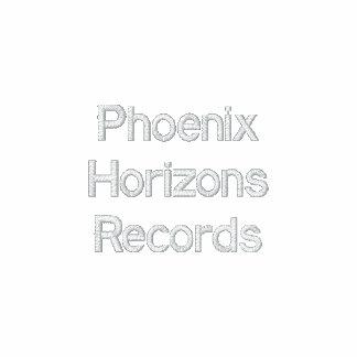 Phoenix Horizons Records Embroidered Hoodie