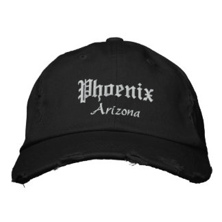 Phoenix intrépida gorra bordada
