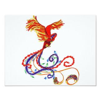Phoenix 4.25x5.5 Paper Invitation Card